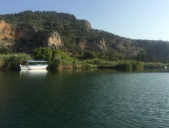 Dalyan paddle board spot in Turkey