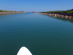 Secovlje salt-pans sitio de stand up paddle / paddle surf en Eslovenia