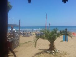 chania surf club paddle board spot in Greece