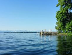 Tutzing Brahmspromenade - Starnberger See paddle board spot in Germany