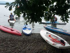 Alpine Lake Tour Sciez-sur-Léman sitio de stand up paddle / paddle surf en Francia