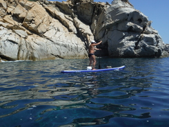 Capo Ferrato spot de stand up paddle en Italie
