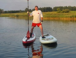 sitio de stand up paddle / paddle surf en Rusia
