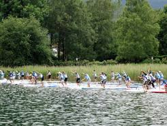 Bräustüberl Cup Tegernsee paddle board spot in Germany