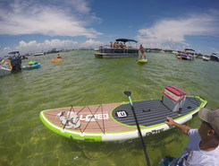 Clement Taylor Park, loop to Crab Island spot de stand up paddle en États-Unis