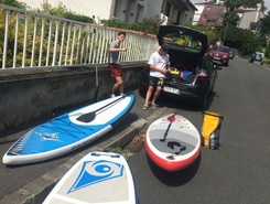 Créteil  spot de stand up paddle en France