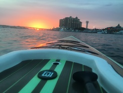 Destin harbor spot de stand up paddle en États-Unis