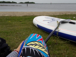 Brouwershaven spot de stand up paddle en Pays-Bas