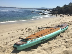 Lovers Point Beach Monterey sitio de stand up paddle / paddle surf en Estados Unidos