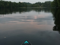 Home paddle board spot in United States