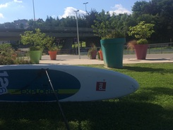 Écluse 1 Montbéliard spot de stand up paddle en France
