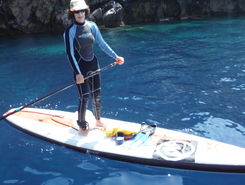 Costa sud Ovest Sardegna sitio de stand up paddle / paddle surf en Italia