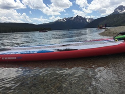 Redfish Lake spot de stand up paddle en États-Unis