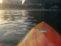 Leme spot de stand up paddle en Brésil