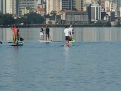 walea canoa sitio de stand up paddle / paddle surf en Brasil