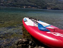 gardasee  paddle board spot in Italy