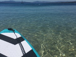 golfo aranci paddle board spot in Italy