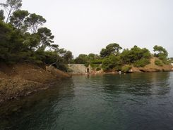 Calanque du Mugel paddle board spot in France
