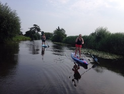 Gein Abcoude paddle board spot in Netherlands