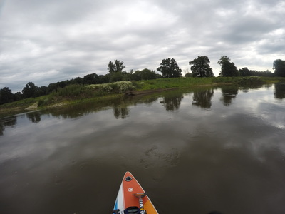 Port Ścinawa    paddle board spot in Poland