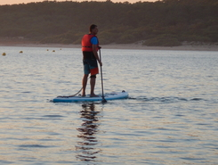 Lagoa de Albufeira paddle board spot in Portugal