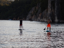 Albarquel sitio de stand up paddle / paddle surf en Portugal