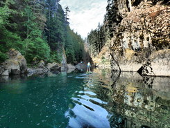 buttle lake spot de stand up paddle en Canada