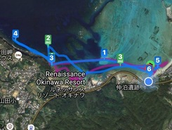 Nakadomari to Maeda Cliffs and Return sitio de stand up paddle / paddle surf en Japón