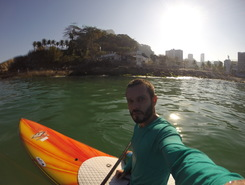 Posto 12 - Leblon sitio de stand up paddle / paddle surf en Brasil