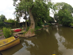 Ochtum Runde paddle board spot in Germany