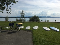 Lac Constance paddle board spot in Germany