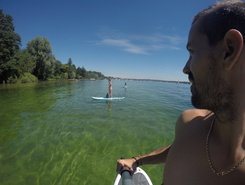 Lac Starnberg paddle board spot in Germany