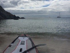 Belle Ille paddle board spot in France