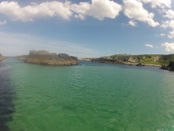 Ballintoy paddle board spot in United Kingdom