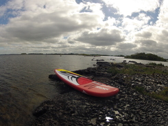 Lac corrib paddle board spot in Ireland