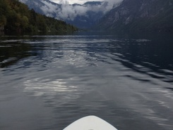 Lake Bohinj spot de stand up paddle en Slovénie