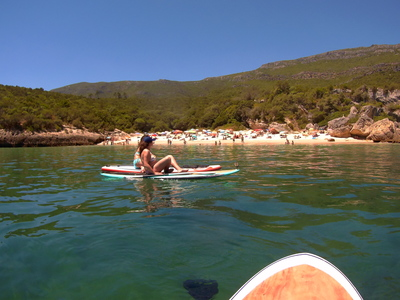 Portinho da Arrábida spot de stand up paddle en Portugal