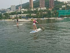 middle island- repulse loop spot de stand up paddle en R.A.S. chinoise de Hong Kong