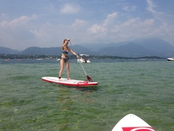 Isola conigli  spot de stand up paddle en Italie
