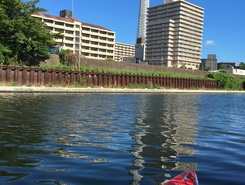 中川 東京 paddle board spot in Japan