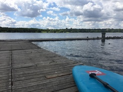 Lac de Vaires-sur-Marnes paddle board spot in France