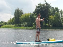 panevezio marios paddle board spot in Lithuania