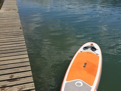 Morsang paddle board spot in France