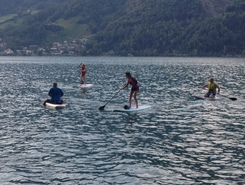 Gäsi spot de stand up paddle en Suisse