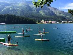 St Moritz sitio de stand up paddle / paddle surf en Suiza