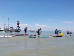 podersdorf sitio de stand up paddle / paddle surf en Austria