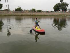 Tank Vengaivaasal sitio de stand up paddle / paddle surf en India
