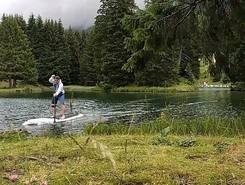 Heidsee sitio de stand up paddle / paddle surf en Suiza