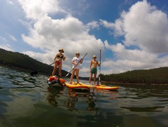 Foz do Rio Cris sitio de stand up paddle / paddle surf en Portugal