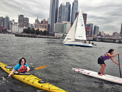 Manhattan spot de stand up paddle en États-Unis